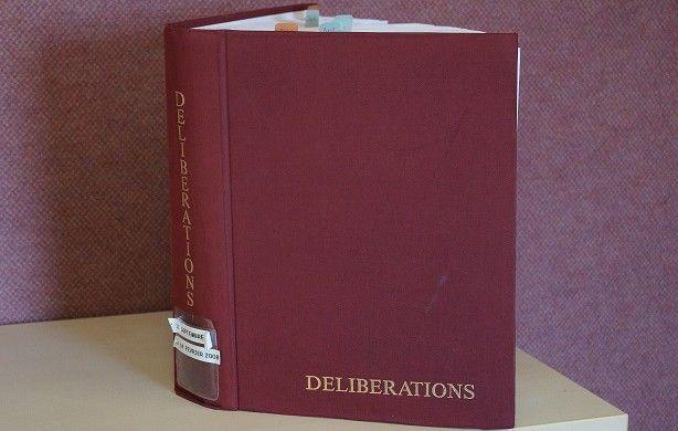 délibérations
