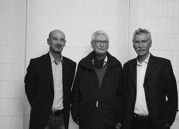 le Maire et les 2 anciens maires