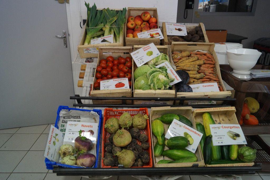 légumes épicerie