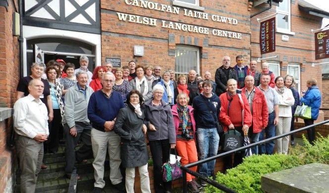 photo echange Pays de Galles - Ruthin
