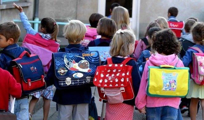 ©PHOTOPQR/LE REPUBLICAIN LORRAIN/ Julio PELAEZ - Thionville 29 janvier 2008  -  Un concours a ete lance par l ' education nationale afin de rendre le sac d ' ecole plus convivial et plus pratique