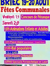 Fêtes communales : 19 et 20 Août 2016