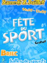 Fête du sport : samedi 2 juillet 2016