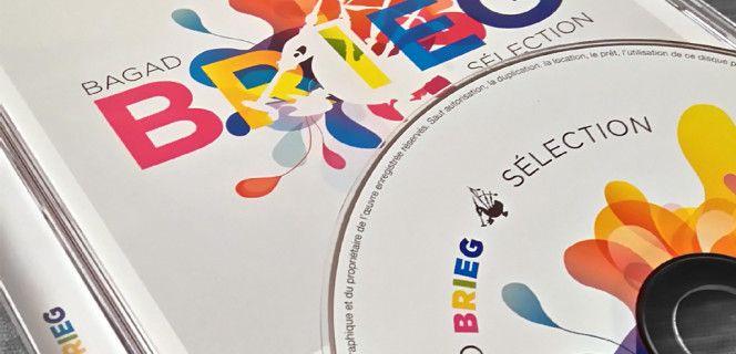 Bagad Brieg : sortie d'un CD : «Sélection»