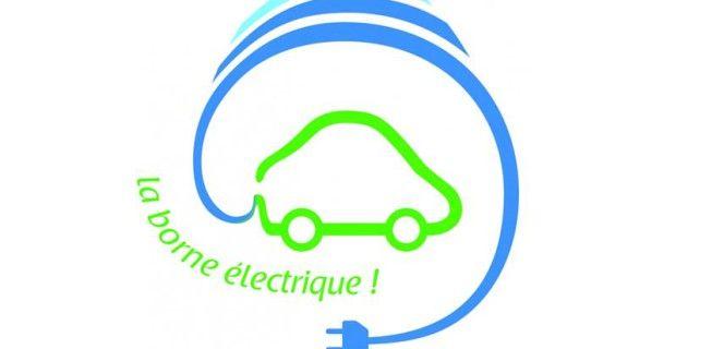 Borne de charge pour véhicules électriques
