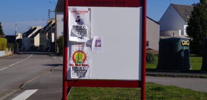 Rappel Panneaux d'affichage libre