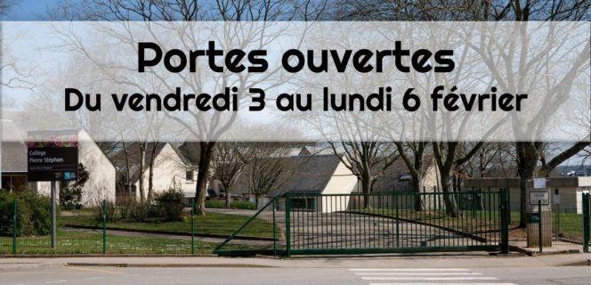 Collège Pierre Stephan : portes ouvertes