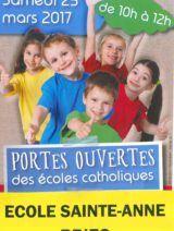 Ecole Sainte-Anne : Portes ouvertes