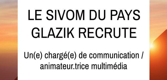 Le SIVOM du Pays Glazik recrute …