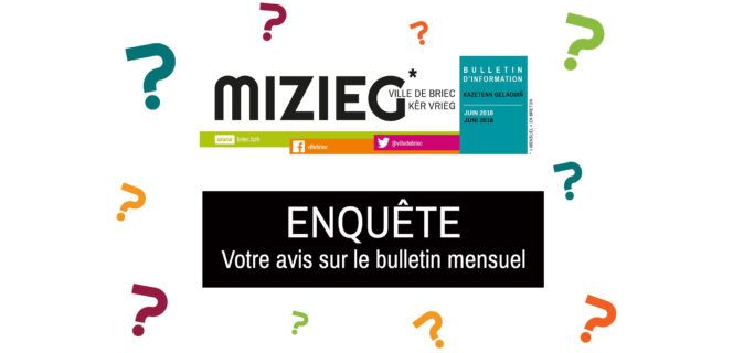 Etude de satisfaction : Bulletin municipal de Briec